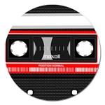 Compact Cassette Musicassette Mc Magnet 5  (Round)