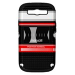 Compact Cassette Musicassette Mc Samsung Galaxy S III Hardshell Case (PC+Silicone)