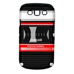 Compact Cassette Musicassette Mc Samsung Galaxy S III Classic Hardshell Case (PC+Silicone)