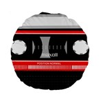 Compact Cassette Musicassette Mc Standard 15  Premium Round Cushions