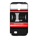 Compact Cassette Musicassette Mc Samsung Galaxy S4 Classic Hardshell Case (PC+Silicone)