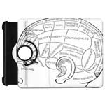 Brain Chart Diagram Face Fringe Kindle Fire HD 7