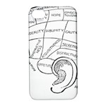 Brain Chart Diagram Face Fringe Apple iPhone 4/4S Hardshell Case with Stand