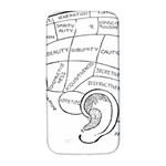 Brain Chart Diagram Face Fringe Samsung Galaxy S4 I9500/I9505  Hardshell Back Case