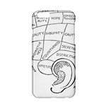 Brain Chart Diagram Face Fringe Apple iPhone 6/6S Hardshell Case