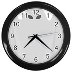 Ghost Halloween Spooky Horror Fear Wall Clocks (Black)