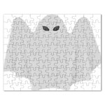 Ghost Halloween Spooky Horror Fear Rectangular Jigsaw Puzzl