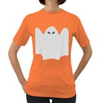 Ghost Halloween Spooky Horror Fear Women s Dark T-Shirt