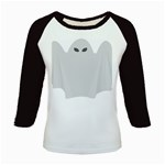 Ghost Halloween Spooky Horror Fear Kids Baseball Jerseys