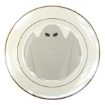 Ghost Halloween Spooky Horror Fear Porcelain Plates