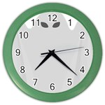 Ghost Halloween Spooky Horror Fear Color Wall Clocks