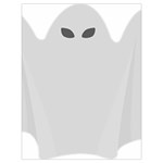 Ghost Halloween Spooky Horror Fear Drawstring Bag (Large)