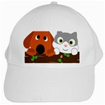 Baby Decoration Cat Dog Stuff White Cap