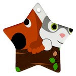 Baby Decoration Cat Dog Stuff Ornament (Star)