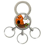 Baby Decoration Cat Dog Stuff 3-Ring Key Chains
