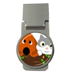 Baby Decoration Cat Dog Stuff Money Clips (Round)