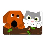 Baby Decoration Cat Dog Stuff Magnet (Rectangular)