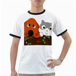 Baby Decoration Cat Dog Stuff Ringer T-Shirts