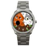 Baby Decoration Cat Dog Stuff Sport Metal Watch
