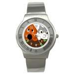 Baby Decoration Cat Dog Stuff Stainless Steel Watch