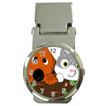 Baby Decoration Cat Dog Stuff Money Clip Watches