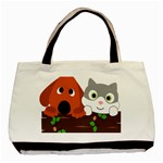 Baby Decoration Cat Dog Stuff Basic Tote Bag (Two Sides)