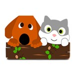 Baby Decoration Cat Dog Stuff Plate Mats