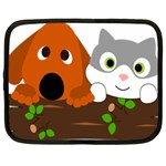 Baby Decoration Cat Dog Stuff Netbook Case (Large)