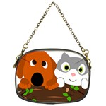 Baby Decoration Cat Dog Stuff Chain Purses (One Side)