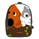 Baby Decoration Cat Dog Stuff School Bag (Large)