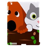 Baby Decoration Cat Dog Stuff Apple iPad 3/4 Hardshell Case (Compatible with Smart Cover)