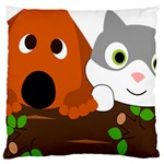 Baby Decoration Cat Dog Stuff Large Cushion Case (One Side)
