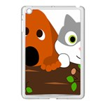 Baby Decoration Cat Dog Stuff Apple iPad Mini Case (White)
