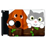 Baby Decoration Cat Dog Stuff Apple iPad 2 Flip 360 Case