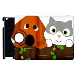 Baby Decoration Cat Dog Stuff Apple iPad 3/4 Flip 360 Case
