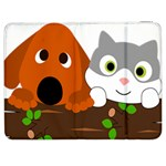 Baby Decoration Cat Dog Stuff Samsung Galaxy Tab 7  P1000 Flip Case