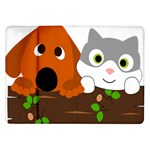Baby Decoration Cat Dog Stuff Samsung Galaxy Tab 10.1  P7500 Flip Case