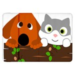 Baby Decoration Cat Dog Stuff Samsung Galaxy Tab 8.9  P7300 Flip Case