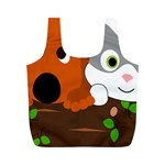 Baby Decoration Cat Dog Stuff Full Print Recycle Bags (M)