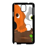 Baby Decoration Cat Dog Stuff Samsung Galaxy Note 3 Neo Hardshell Case (Black)