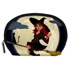 Witch Witchcraft Broomstick Broom Accessory Pouches (large)