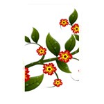 Flower Branch Nature Leaves Plant Memory Card Reader