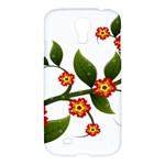 Flower Branch Nature Leaves Plant Samsung Galaxy S4 I9500/I9505 Hardshell Case