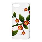 Flower Branch Nature Leaves Plant Apple iPhone 7 Hardshell Case