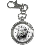 Lion Wildlife Art And Illustration Pencil Key Chain Watches