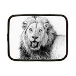 Lion Wildlife Art And Illustration Pencil Netbook Case (Small)