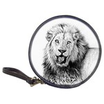 Lion Wildlife Art And Illustration Pencil Classic 20-CD Wallets
