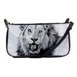 Lion Wildlife Art And Illustration Pencil Shoulder Clutch Bags