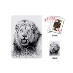 Lion Wildlife Art And Illustration Pencil Playing Cards (Mini)