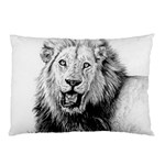 Lion Wildlife Art And Illustration Pencil Pillow Case (Two Sides)